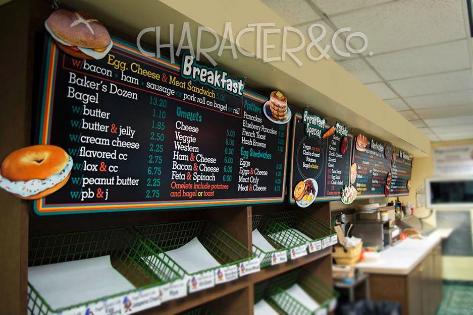 Menu Boards | Character&Company