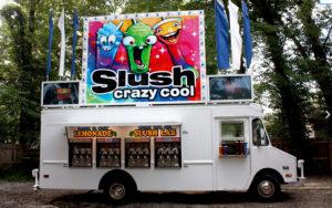 Slush.Italian Ice Food Truck graphics